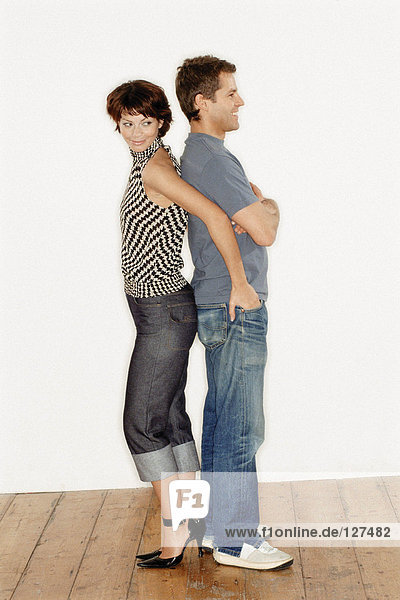 Trendy couple