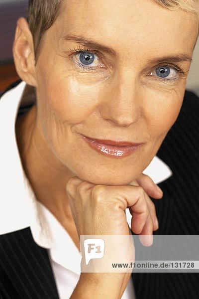 Portrait der Geschäftsfrau