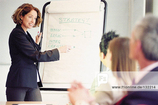 Geschäftsleute im Meeting Geschäftsleute im Meeting
