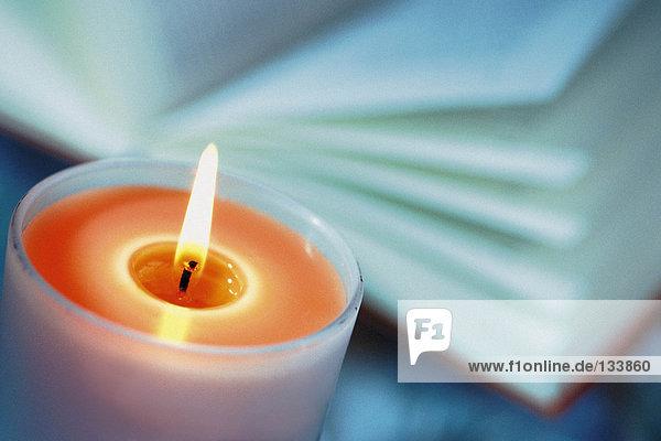 Farbige Kerze
