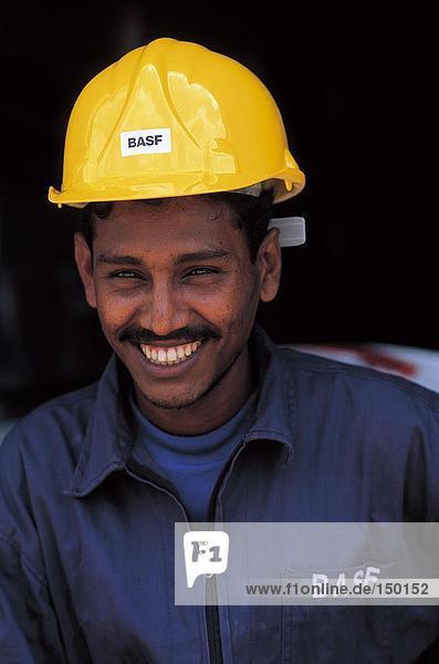 Nahaufnahme der Arbeiter Lächeln  Sri Lanka