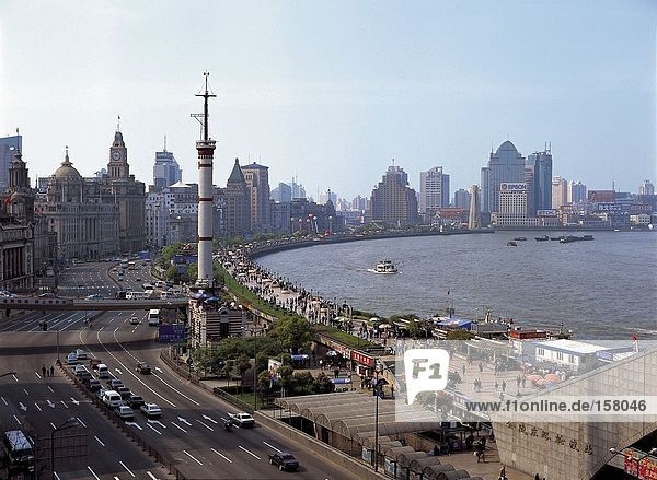 Der Bund  Shanghai  China
