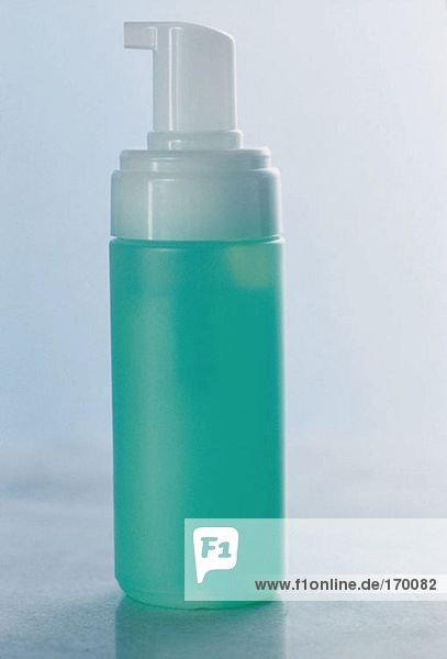 A bottle of cleanser