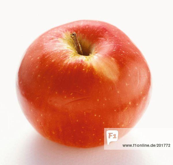 Roter McIntosh Apfel
