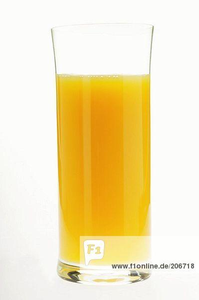 Orangensaft im Glas