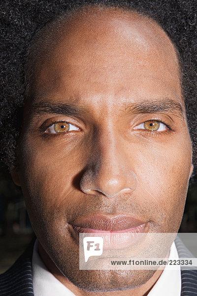 Porträt eines Afroamerikaners
