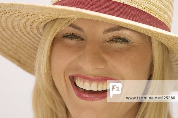 Porträt von Lächelnde Frau