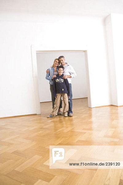 leer Portrait Eigentumswohnung neues Zuhause