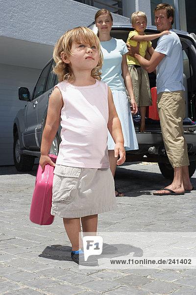 Familienpackwagen für den Urlaub