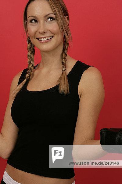 Porträt einer jungen Frau  fully_released