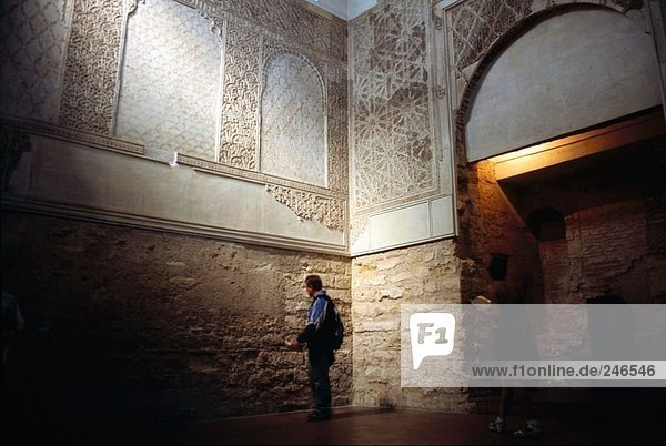 Innere der Synagoge  Cordoba  Andalusien  Spanien