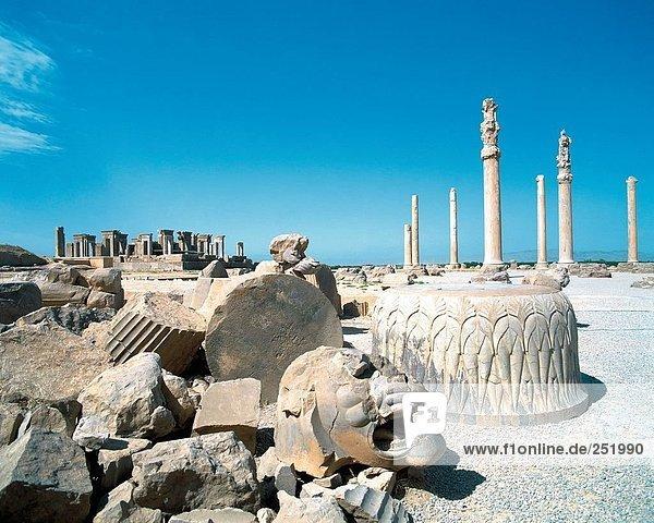 10560070  Apadana  Iran  Middle East  culture  palace  Persepolis  ruins  columns  Takht e Jamshid  Ancient world  antiquity