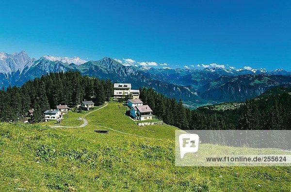 10814593,Alpen,Aussicht,Häuser,Kanton Sankt Gallen