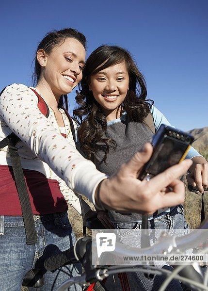 Teens Hiking  Biking  Camping