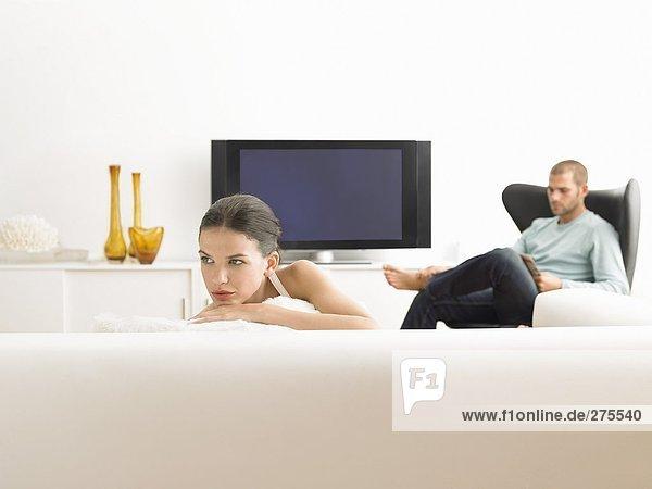 Menschen in Räumen