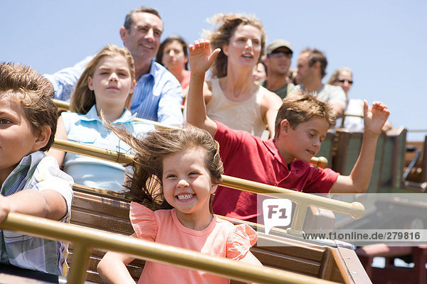 Achterbahnfahren für die ganze Familie