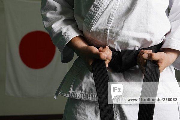 Taekwondo Fighter Verschärfung Gürtel
