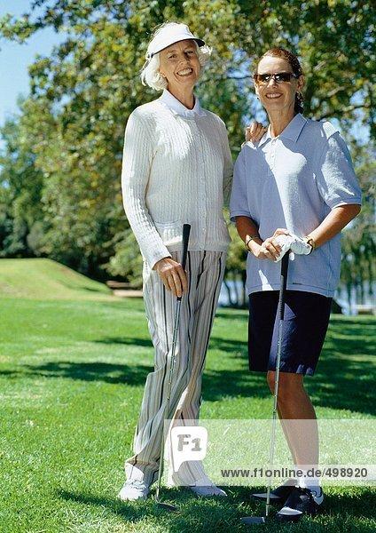 Reife Golfer