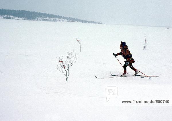 Finnland  Saami Skilanglauf