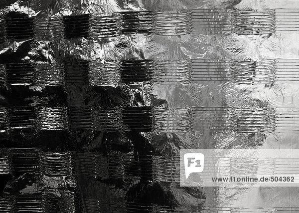 Metallische Oberfläche  extreme Nahaufnahme