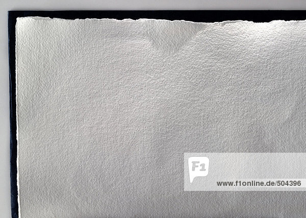 Büttenpapier  Nahaufnahme