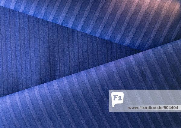 Gestreiftes blaues Papier  Nahaufnahme