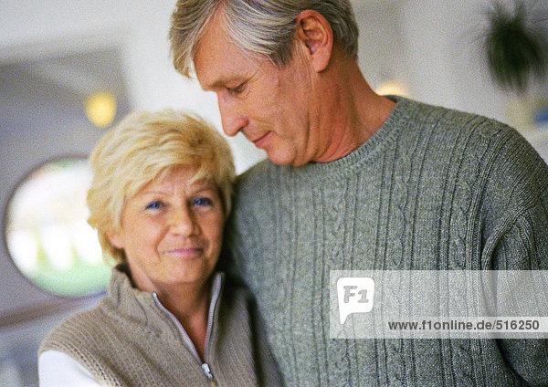 Erwachsener Mann und Frau  Porträt