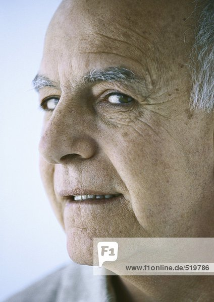 Senior Mann  Porträt