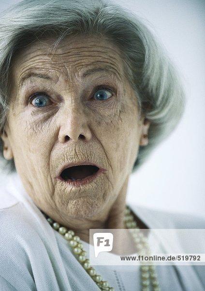 Seniorin  Porträt