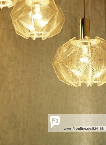Lampen im Cafe Franck