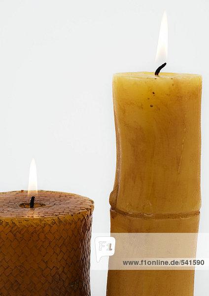 Kerzen  beleuchtet