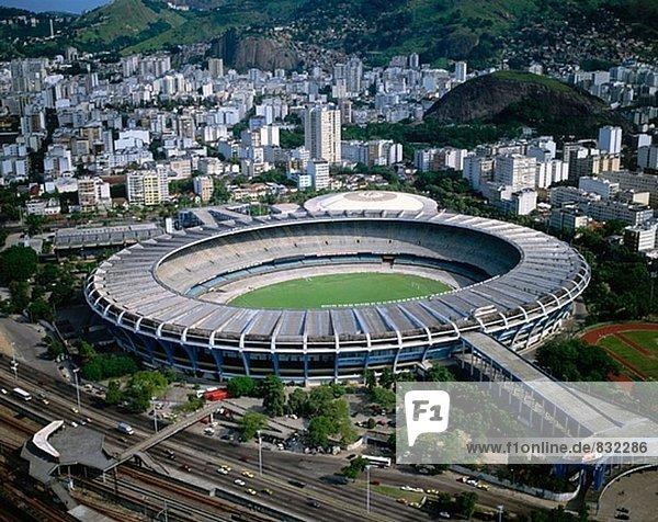 Maracana-Stadion. Rio De Janeiro. Brazilien