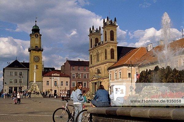 Hauptplatz. Banska Bystrica. Slowakei