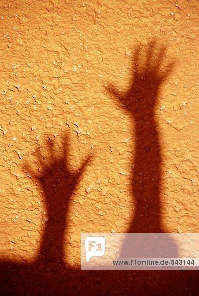 Hand Schatten