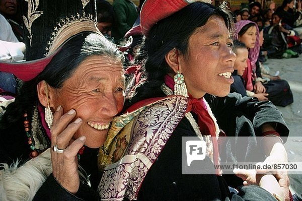 Frauen beim Festival. Ladakh. Indien