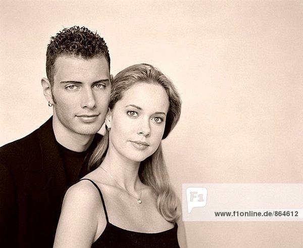 Bild des jungen Paares Viewer betrachten