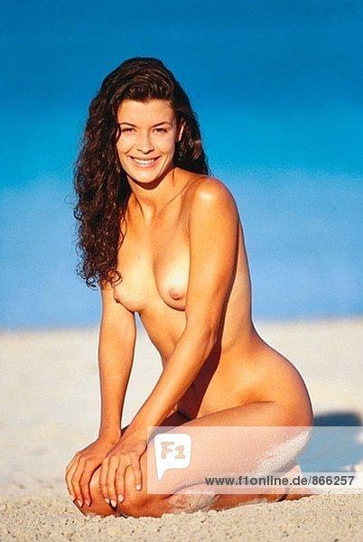 Nackte Frau Am Strand Stock Fotografie Bildagentur F Online