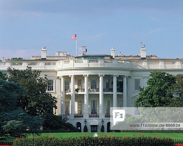 Vereinigte Staaten von Amerika USA Wohnhaus weiß