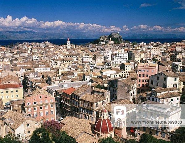 Korfu. Korfu Insel. Griechenland