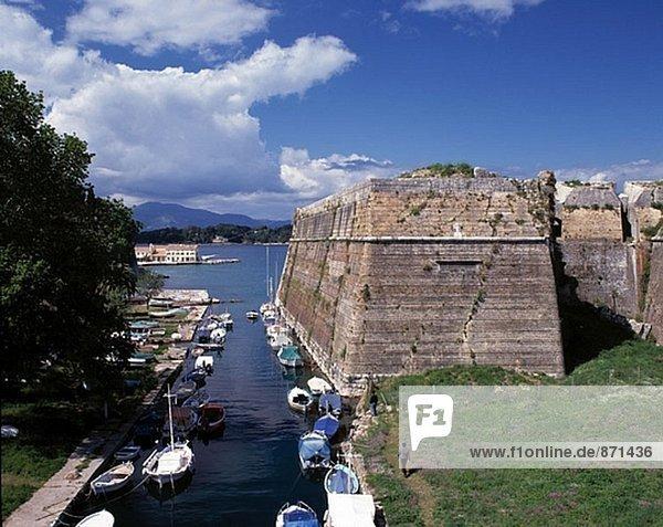 Old Fortress. Corfu Town (Kerkira). Corfu. Greece