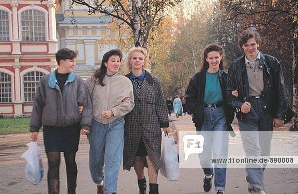 Junge Menschen. St. Petersburg. Russland