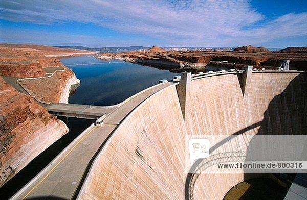 Glen Canyon dam. Utah. USA