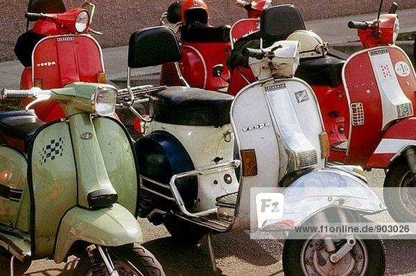 Italienischen scooters