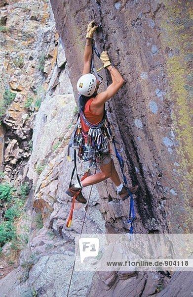 Klettern. Colorado. USA