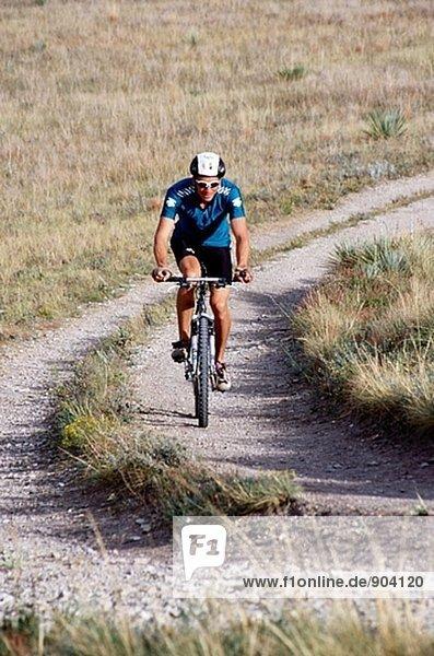 Mountainbike. Colorado. USA