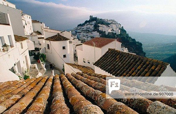 Dorf Casares Spanien