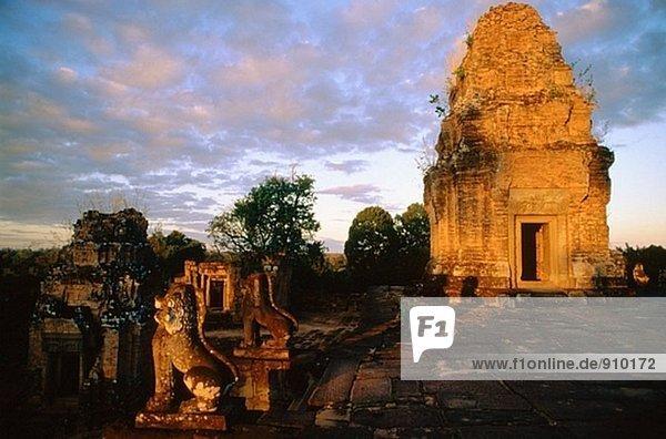 East mebon. Angkor  near Siem Reap. Cambodia
