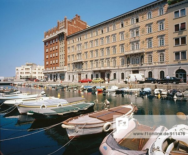 Canal. Trieste. Italy