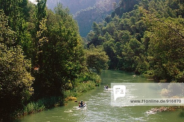 Gudalquivir River. Jaen Provinz. Spanien