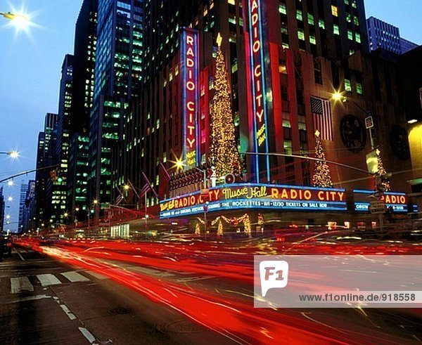 Radio City Music Hall. New York City. USA.